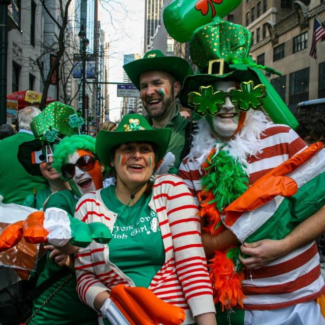 St. Patricks Day in New York