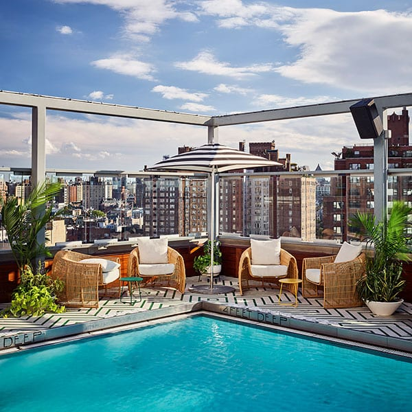 Die 6 besten Hotels mit Pool in New York
