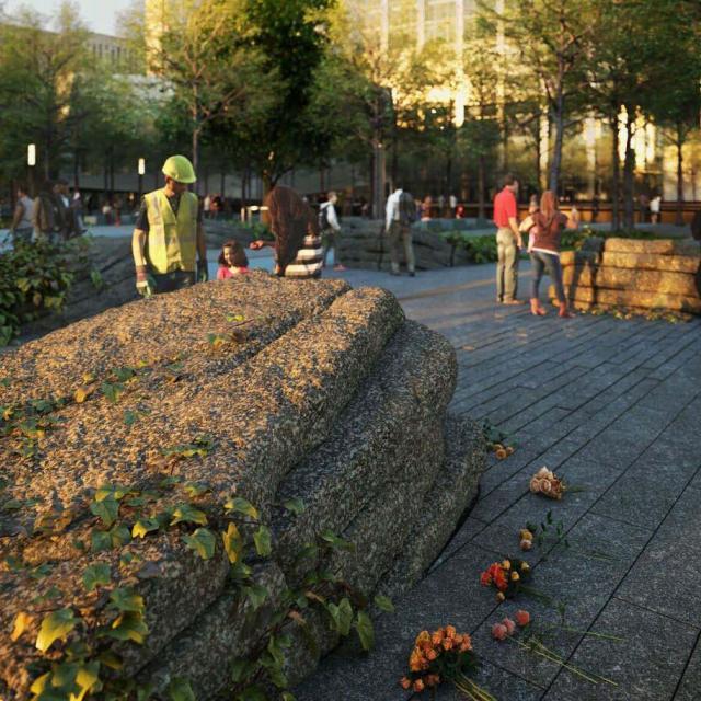 Das 9/11 Memorial Glade