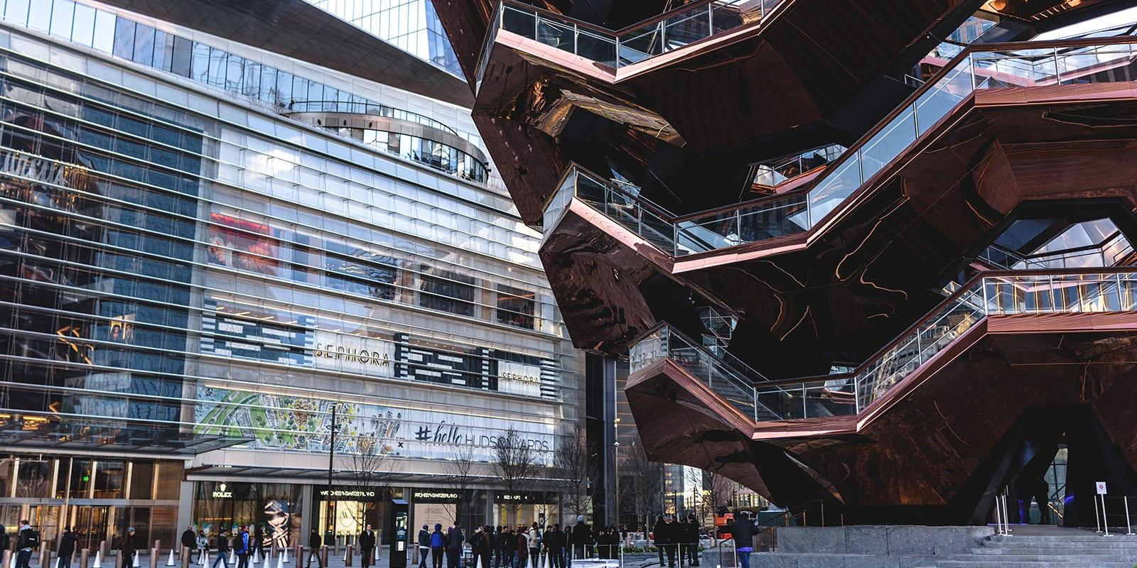 The Shops Hudson Yards Mall Eingang