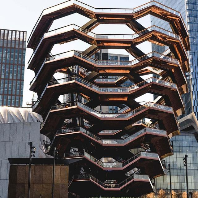 Der Hudson Yards Vessel