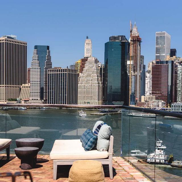 Die besten Rooftop-Bars in Brooklyn