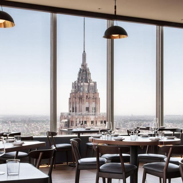 Restaurant Manhatta in Lower Manhattan