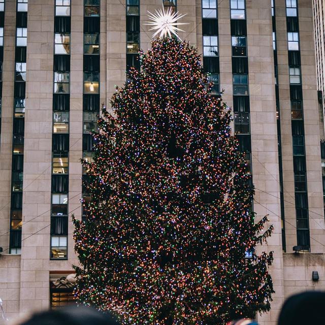 Rockefeller Tree Lighting Ceremony in New York