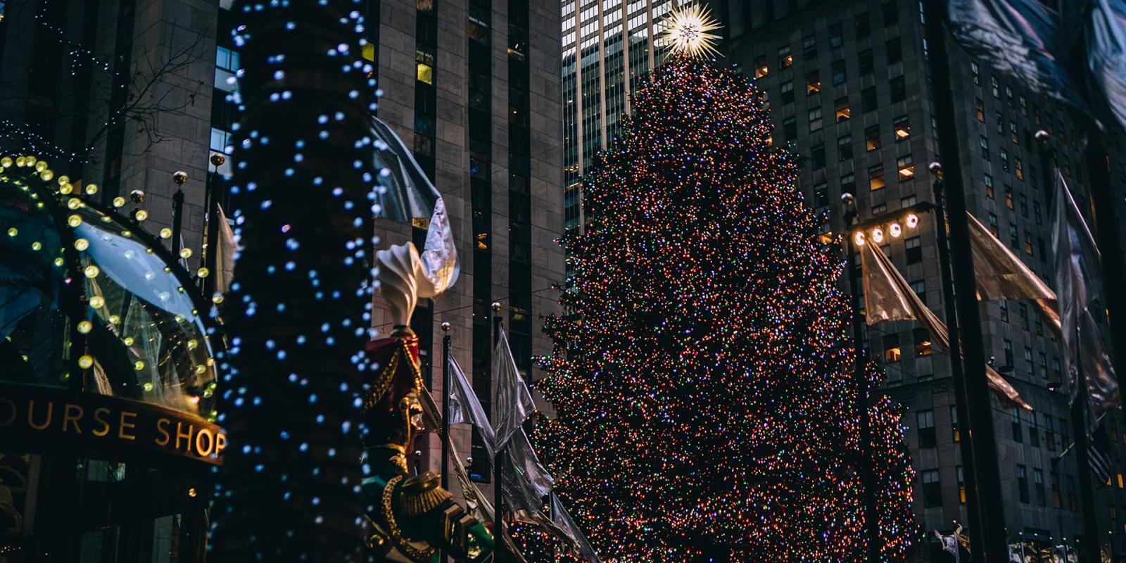 Weihnachtsbaum rockefeller center 2019   Rockefeller Center Holiday Christmas Tree Lighting 2019 ...
