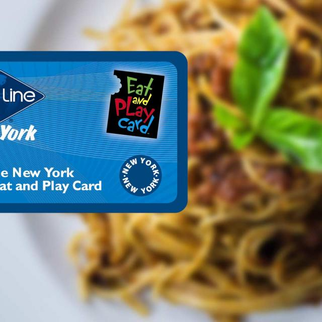Eat and Play Card New York