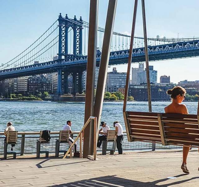 Das Pier 35 in New York