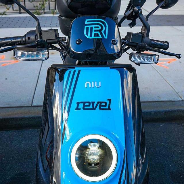 Roller fahren mit Revel in NYC