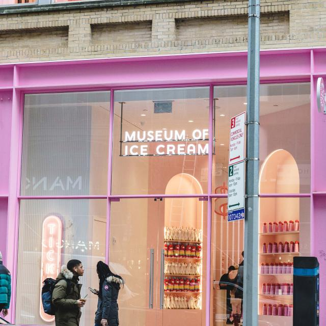 Das Museum of Ice Cream New York