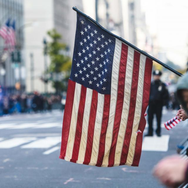 Veterans Day Parade in NYC