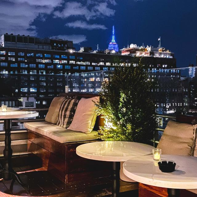 B. on Top Rooftop Bar im Meatpacking District
