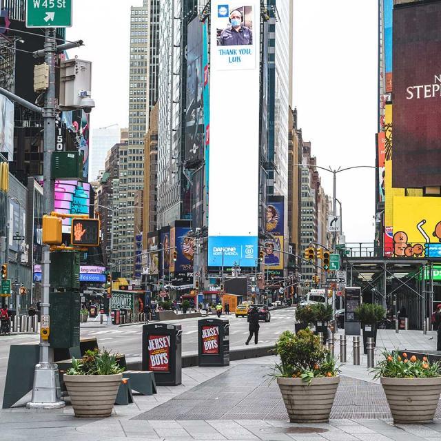 Wiedereröffnung von New York City