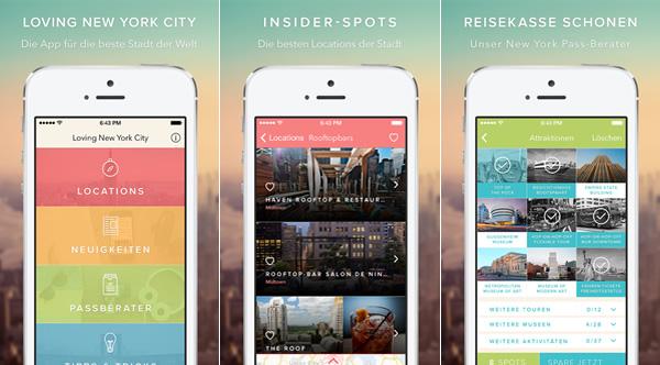 Unsere New York App: kostenlos & offline, inkl. Reiseplaner 2018